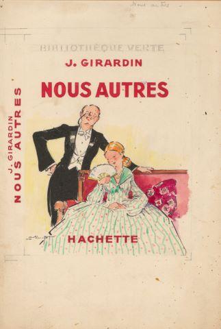 Nous autres de J. Girardin, maquette de couverture