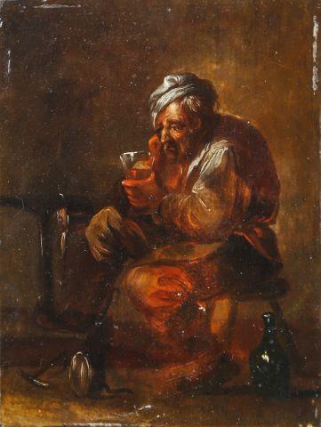 Chaudronnier au verre de vin