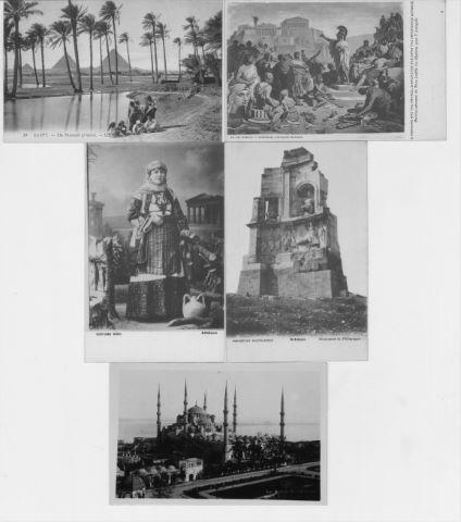 Important ensemble de cartes postales anciennes