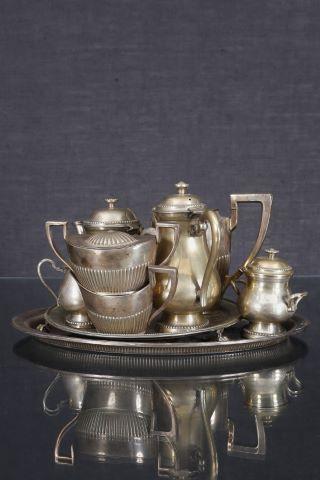 2 parties de services à thé et café