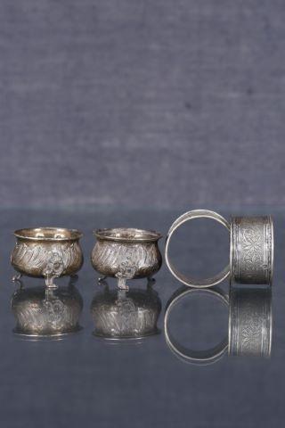 Ensemble d'objets en argent