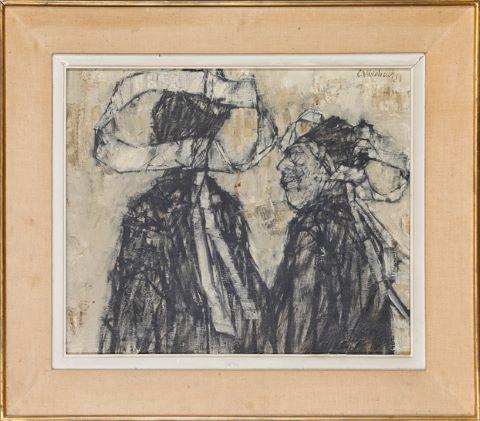 Deux femmes bretonnes