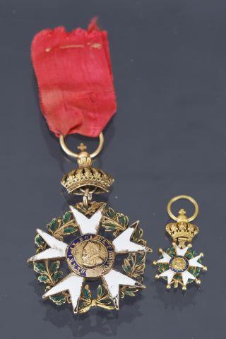 France, ordre de la légion d'honneur, fondé en 1802 - Seconde Restauration