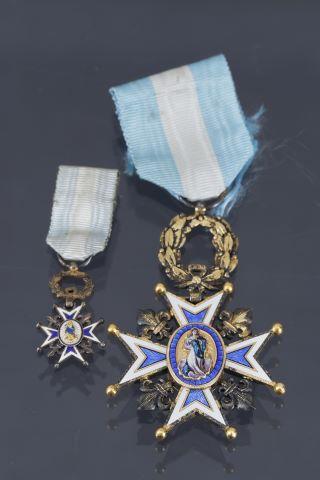 Ordre Royal de Carlos III, médaille de chevalier