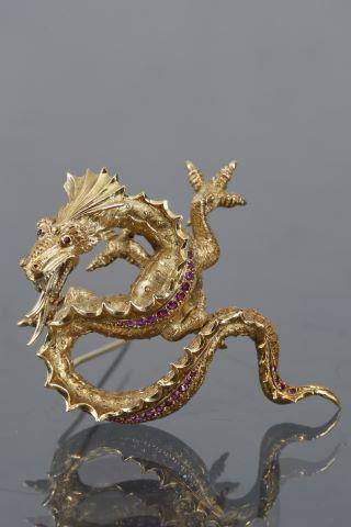 Broche dragon