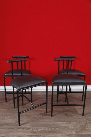Suite de 4 chaises, modèle Tokyo