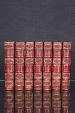 Œuvres complètes de Buffon, tomes 1, 2, 3, 5, 6 et 7