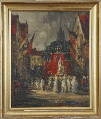 Procession à Bruges
