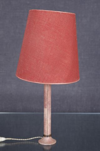 Pied de lampe colonne