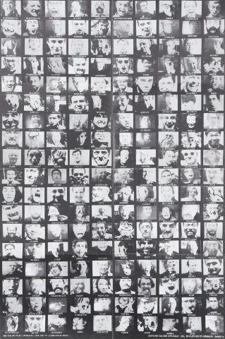 """Photomontage du film """"Grimace"""" réalisé par l'artiste"""