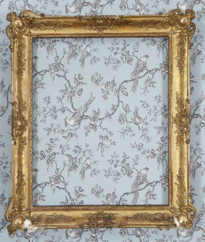2 encadrements de style Louis XV