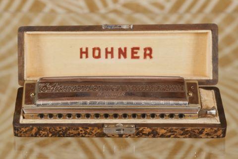 Harmonica chromatique 64