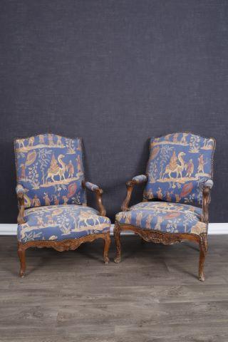 Suite de 3 fauteuils