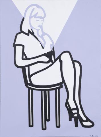 Femme connectée