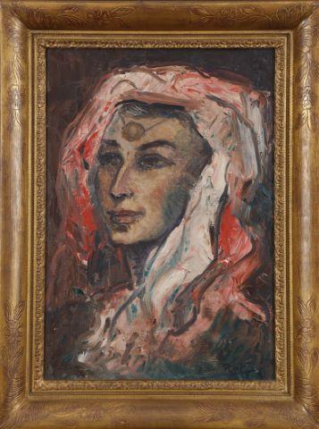 Portrait d'une Nord-Africaine & Le Souk [2 œuvres]