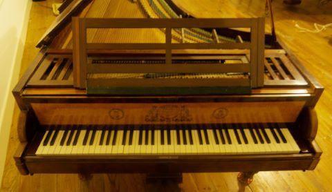 Pianoforte, modèle concert