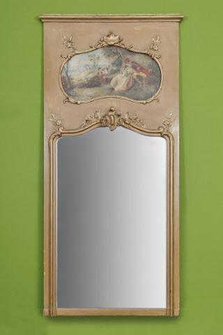 Grand trumeau de style Louis XV