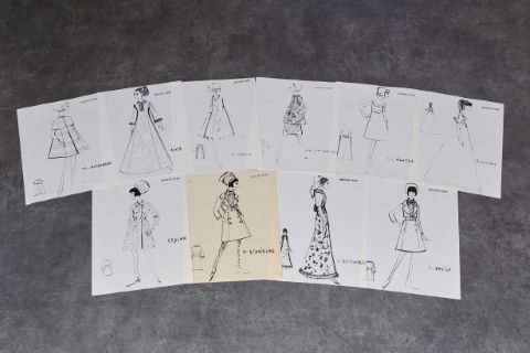 "[Mode] 10 dessins - Collection ""Haute couture"""