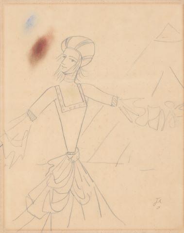 La Dame à la Licorne, étude