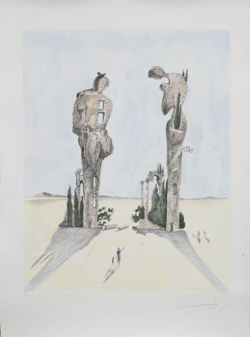 Paysage surréaliste & Les Arbres ne répondent plus [2 œuvres]