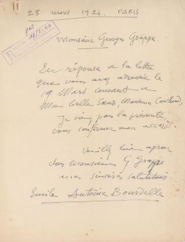 3 LAS à Georges Grappe