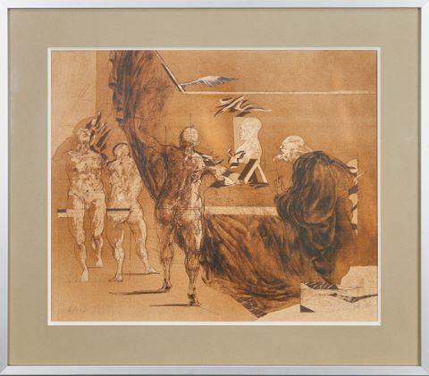 L'Atelier, Hommage à Rembrandt & Le Peintre et ses modèles [3 œuvres]