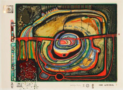 Friedensreich Hundertwasser (1928-2008)