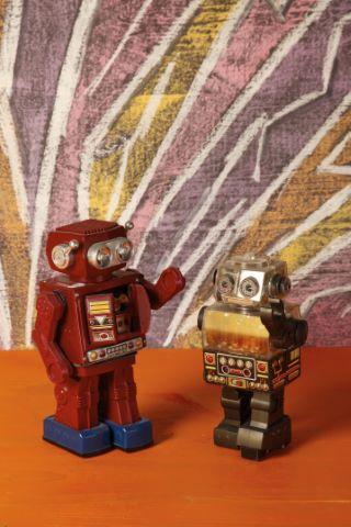 Lot de deux robots